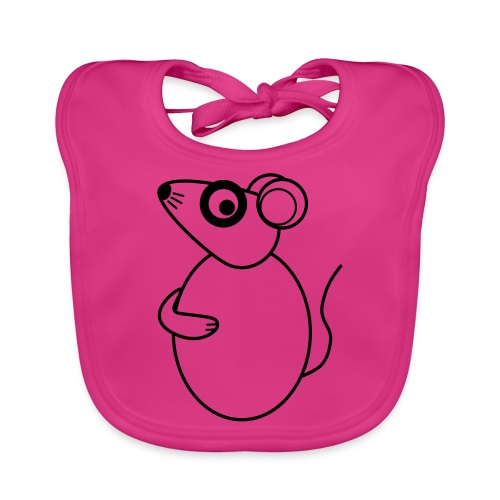 Rat - not Cool - sw - Organic Baby Bibs