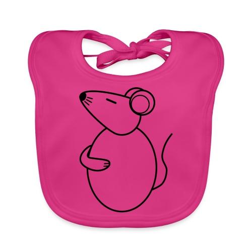 Rat - just Cool - sw - Baby Bio-Lätzchen