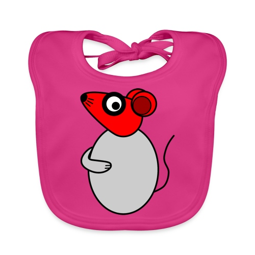 Rat - not Cool - c - Organic Baby Bibs