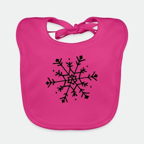 Cute snowflake - Baby Organic Bib