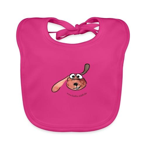 Kollin Kläff - Hunde Hauptfigur - Baby Bio-Lätzchen
