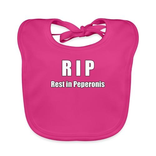 RIP Rest in Peperonis - Baby Bio-Lätzchen