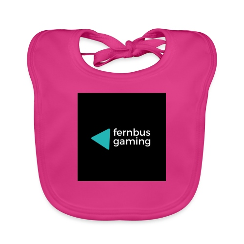 fernbus gaming - Ekologisk babyhaklapp