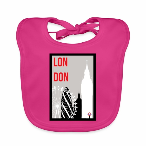 London Skylines - Baby Organic Bib