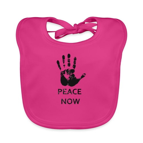 Peace Now - Baby Organic Bib