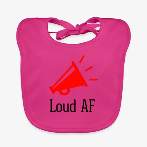 Loud AF - Baby Bio-Lätzchen