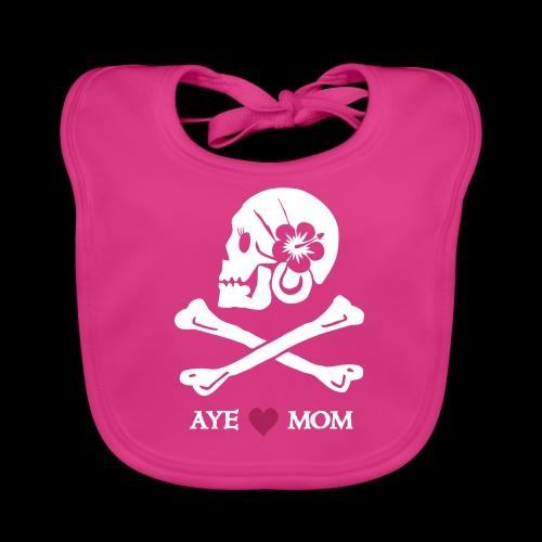 Aye love Mom - Baby Bio-Lätzchen