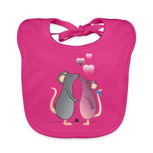 ratones3 - Babero ecológico bebé