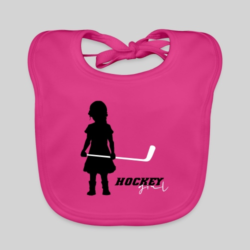Hockey Girl I - Baby Bio-Lätzchen