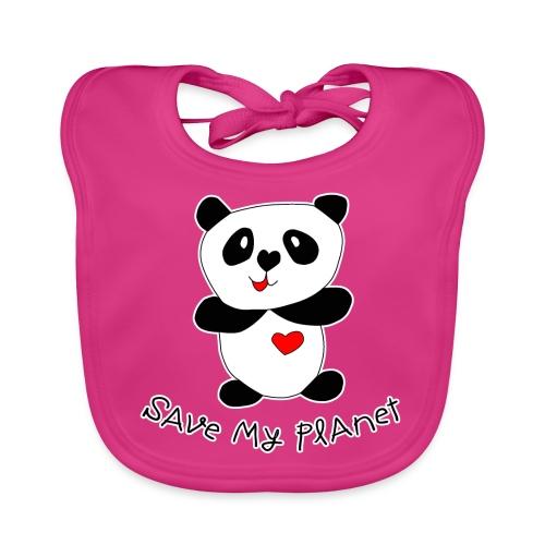 Pandabär - Baby Bio-Lätzchen
