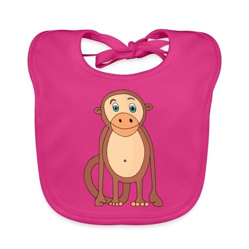 Bobo le singe - Bavoir bio Bébé
