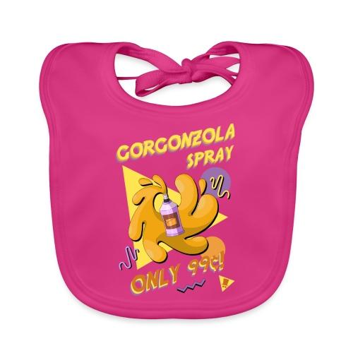 Gorgonzola spray - Bavaglino ecologico per neonato