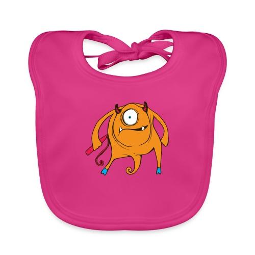 A TAD SURPRISING (monster #3) - Baby Organic Bib