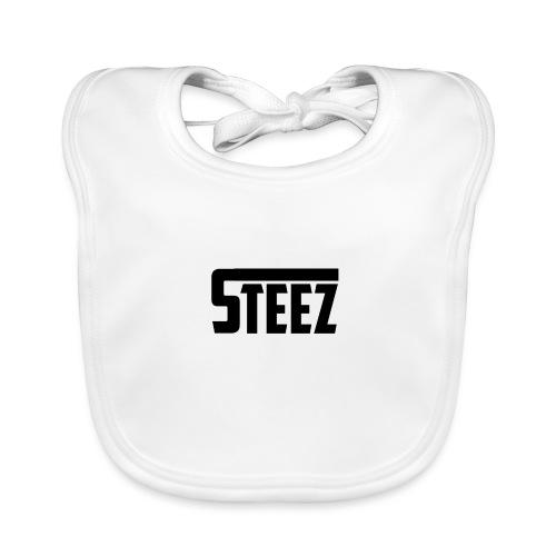 steez tshirt name - Bio-slabbetje voor baby's