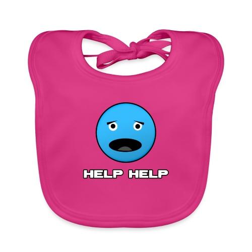 Shirt Help Help - Bio-slabbetje voor baby's
