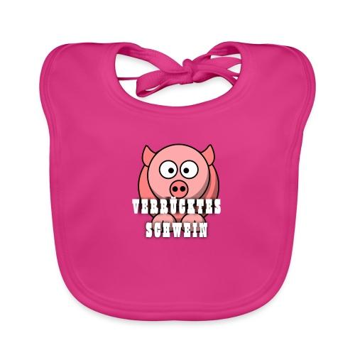 Schweine Tasche - Baby Bio-Lätzchen