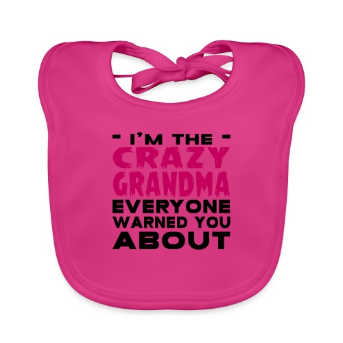 Crazy Grandma - Organic Baby Bibs