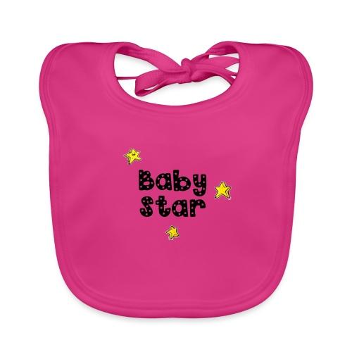 magicstars clip - Baby Organic Bib
