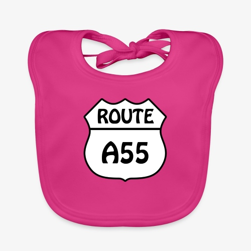 Route A55 - Organic Baby Bibs