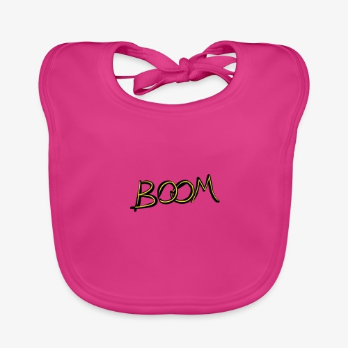 boom - Baby Organic Bib