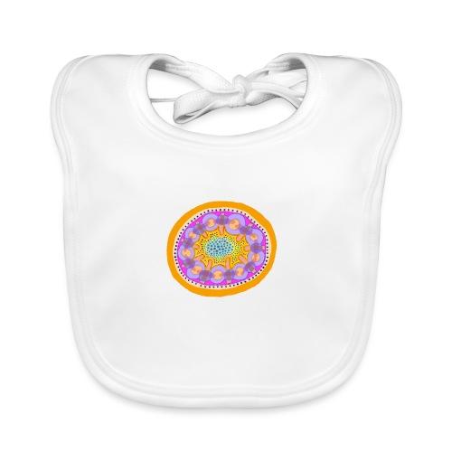 Mandala Pizza - Baby Organic Bib