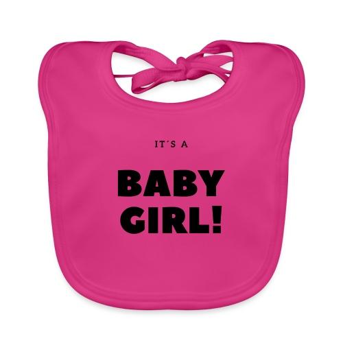 It´s a Baby Girl - Geschenkidee - Baby Bio-Lätzchen