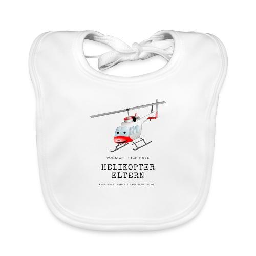 Helikoptereltern - Baby Bio-Lätzchen