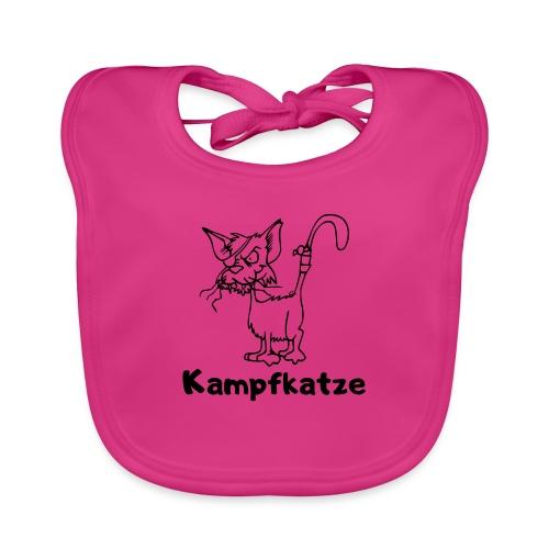 Kampfkatze - Baby Bio-Lätzchen