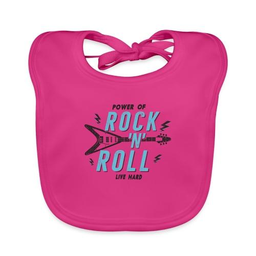 Rock n Roll - Baby Bio-Lätzchen
