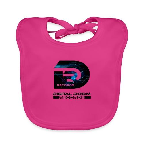 Digital Room Records Official Logo effect - Baby Organic Bib