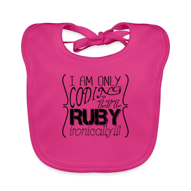 I am only coding in Ruby ironically!!1
