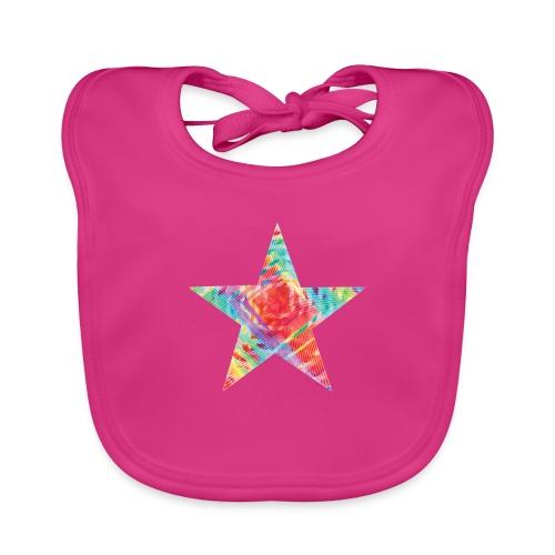 Color star of david - Baby Organic Bib