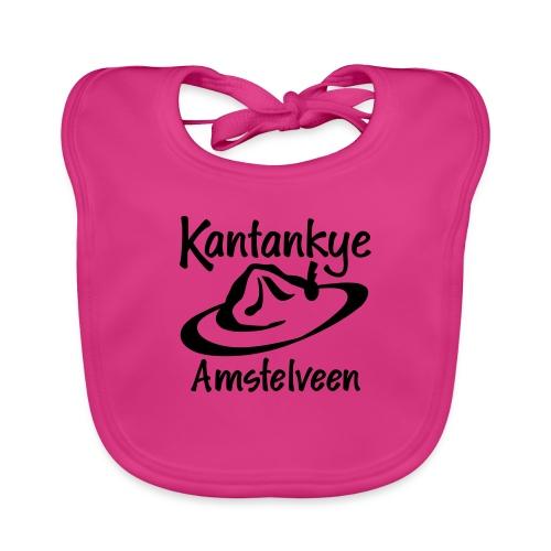 logo naam hoed amstelveen - Bio-slabbetje voor baby's