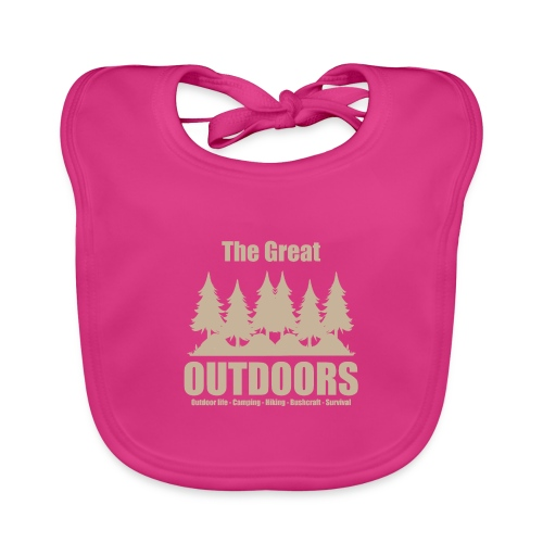 The great outdoors - Clothes for outdoor life - Organic Baby Bibs