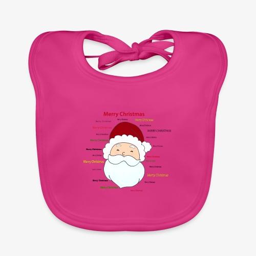 pere noel Merry x mas - Organic Baby Bibs