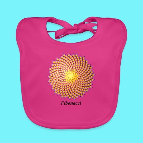 Fibonacci flower - Organic Baby Bibs