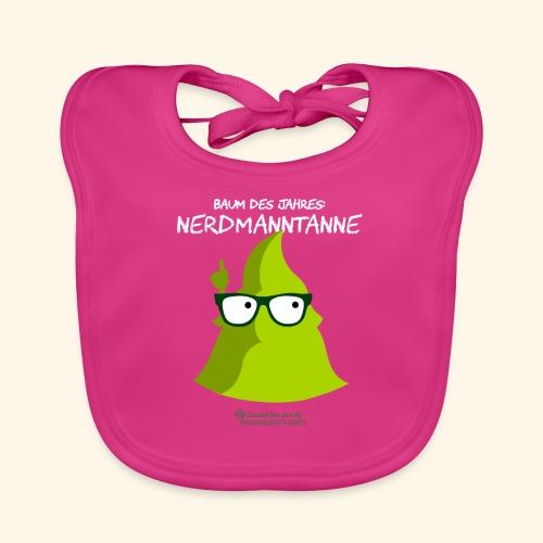 Geek T-Shirt Nerdmanntanne - Baby Bio-Lätzchen