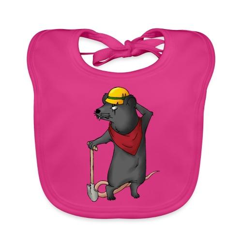 Arbeiter Ratte - Baby Bio-Lätzchen