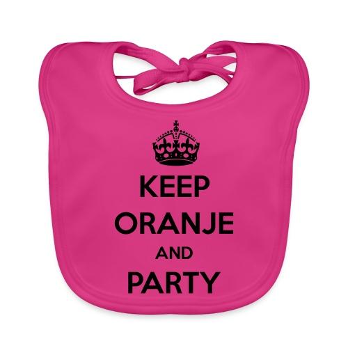 KEEP ORANJE AND PARTY - Bio-slabbetje voor baby's