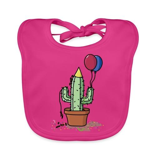 Flowercontest cactus party - Bio-slabbetje voor baby's
