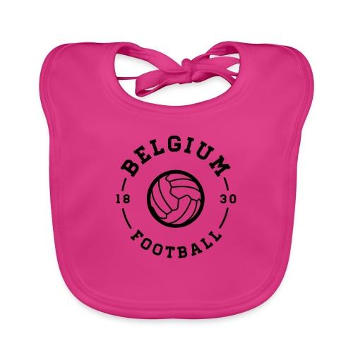 Belgium football - Belgique - Belgie - Bavoir bio Bébé