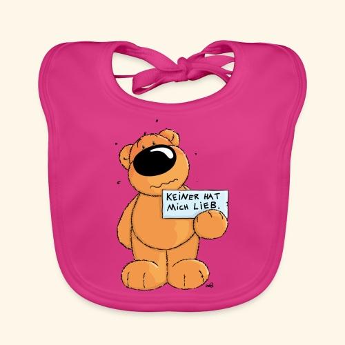chris bears Keiner hat mich lieb - Baby Bio-Lätzchen