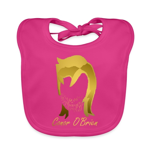 The Golden Logo - Baby Organic Bib