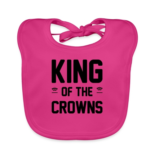 King of the crowns - Bio-slabbetje voor baby's