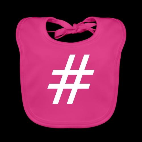 Hashtag Team - Baby Bio-Lätzchen