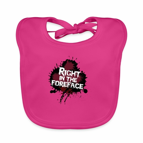 Right In The Foreface - Organic Baby Bibs