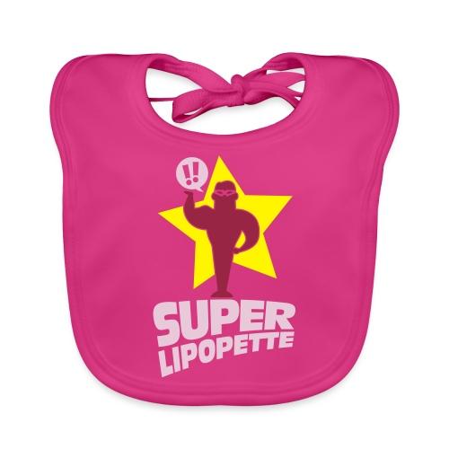 SUPER LIPOPETTE - Bavoir bio Bébé