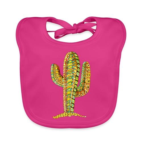 Le cactus - Bavoir bio Bébé