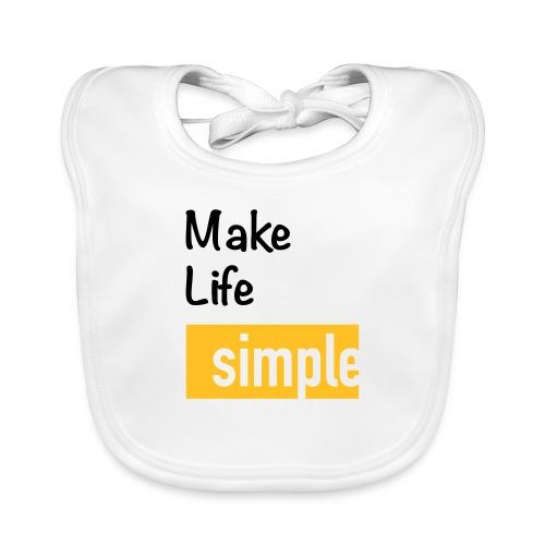 Make Life Simple - Bavoir bio Bébé