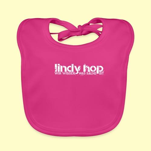 Lindy Hop Dance Geschenk T-Shirt - Baby Bio-Lätzchen